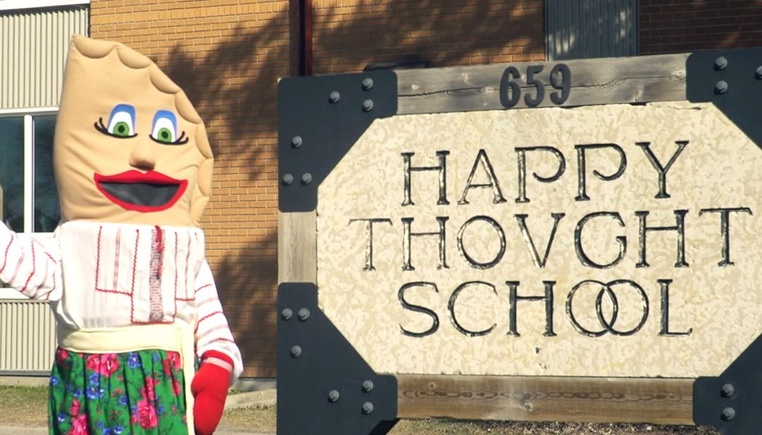 Petrusia Perih visits Happy Thought School